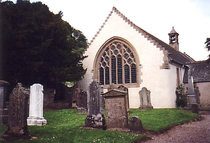 Fortingall yew tree and church